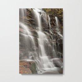 Ganoga Autumn Falls Metal Print