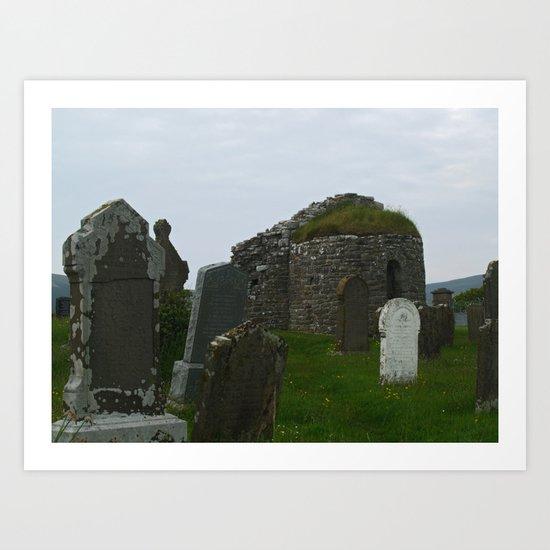 Orphir Round Church 2 Art Print