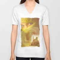 romantic V-neck T-shirts featuring Romantic by Miguel Angel Carroza