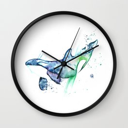 Orca - Into the Blue Wall Clock