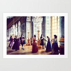 Victorian Ball, Paris Art Print