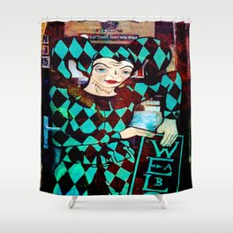 Doorway to Absinth Shop~ Prague Shower Curtain
