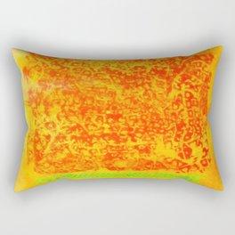 hot summer Rectangular Pillow