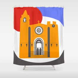 Noia, a beautiful town in Galicia Shower Curtain
