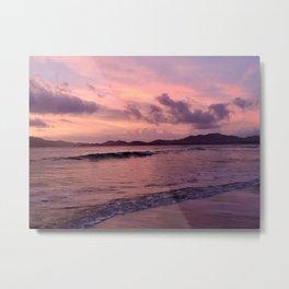 Sunset in Pinks  Metal Print