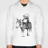 cowboy Hoodies featuring Cowboy by Chimi
