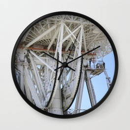 Work began on March 11 2010 to replace a set of elevation bearings on the giant Mars antenna at NASA Wall Clock