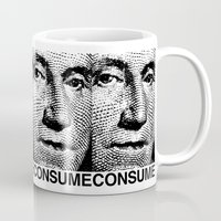 washington Mugs featuring Washington by Consumer Outfitters
