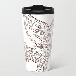 Dove Celtic Knotwork Travel Mug