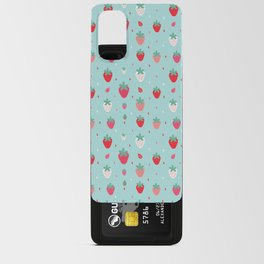StrawberryPattern Android Card Case