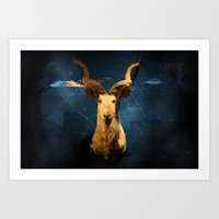 Taxidermia Art Print