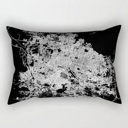 Guadalajara map Rectangular Pillow
