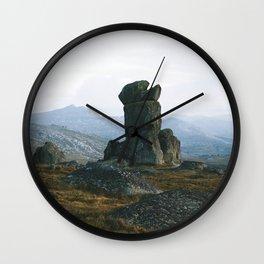 Rams Head III Wall Clock