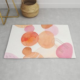 modern abstract shapes 002  Rug
