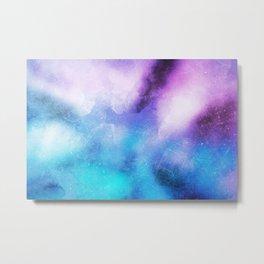 Metal Blue paint Metal Print