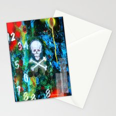 Numbers Beware Stationery Cards