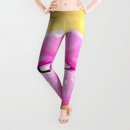 Fashion pink lips II Leggings