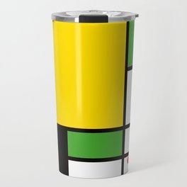Mondrian – Bycicle Travel Mug
