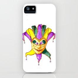 Mardi Gras Mask 1 iPhone Case