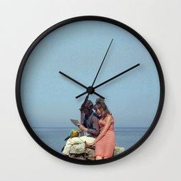 moi aussi marianne Wall Clock