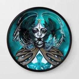 The Goddess: Mórrigán Wall Clock