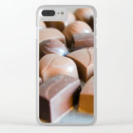 Chocolate 6 Clear iPhone Case