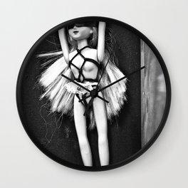 Bondage Barbie Wall Clock