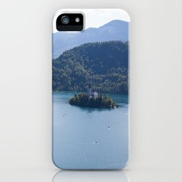 Lake Bliss iPhone Case