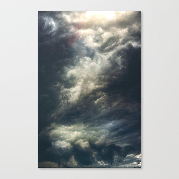 Cloudio di porno II Canvas Print