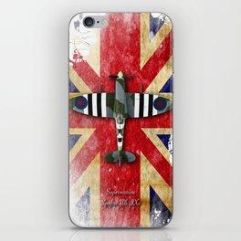 Spitfire Mk.IX iPhone Skin