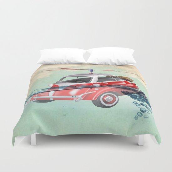 Isetta  all terrain vehicle Duvet Cover