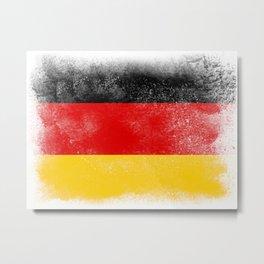 Germany flag isolated Metal Print