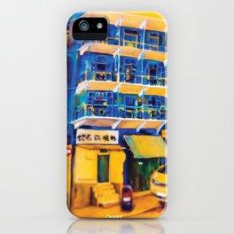 blue house (hong kong) iPhone Case