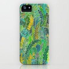 Green leaves Slim Case iPhone SE
