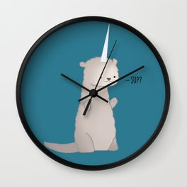 Otterly Magical Wall Clock