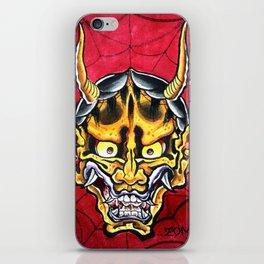 Hannya iPhone Skin