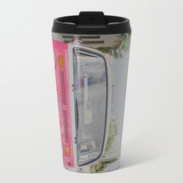 Hot Pink Lady Travel Mug