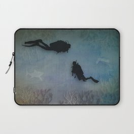 Scuba Divers Laptop Sleeve