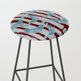 For the Birds and Birch Trees Bar Stool