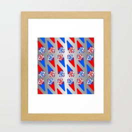 Festive Warheads Framed Art Print
