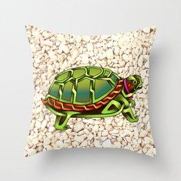 Turtle Knot Throw Pillow