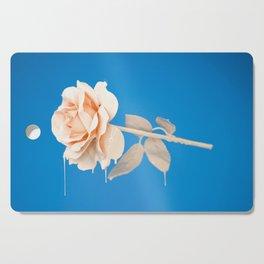 Pink Rose Cutting Board