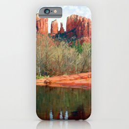 Healing Waters of Cathedral Rock iPhone Case