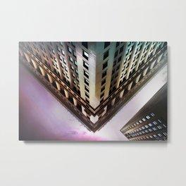 Cornered Metal Print