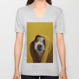 Jack Russell Terrier 8 Unisex V-Neck