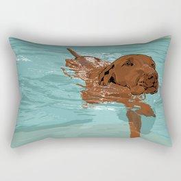 #inktober2016:wet Rectangular Pillow