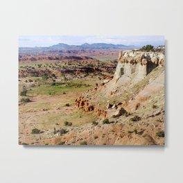 Painted Desert Valley Metal Print
