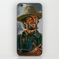 clint eastwood iPhone & iPod Skins featuring  Clint Eastwood by andy551