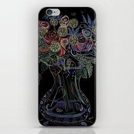Floral Octopus Vase iPhone Skin