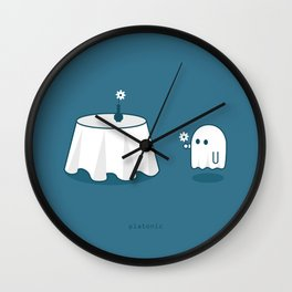 Platonic Wall Clock